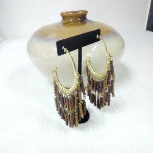 Jewelry - NWT Brown Earrings